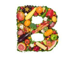 Fruit in the shape of a B